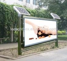 solar power advertising LED billboard