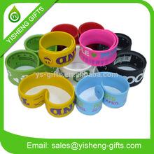 Silicone Wrist Band/ Silicone Slap Bracelet/ Silicone Band