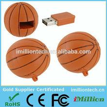 3d customized basketball usb flash drives