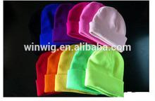 2014 New Fashion colour Logo Cap Warm Winter Hats