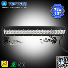 high lumen CREE 126W double rows led light bar ATV UTV OFFROAD CAR