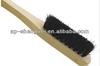 black horse hair wooden handdle brush