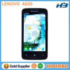 MTK6589 Quad Core Celular Lenovo A820 Latest China Mobile Phone 4.5inch Quad core Android4.1 Telefono Movil