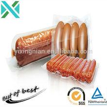 Heat seal color laminated transparent vacuum plastic food packing bags for eggs