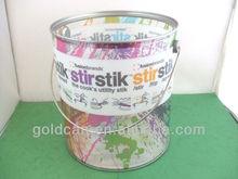 Halloween and Easter plastic bucket with metal handle