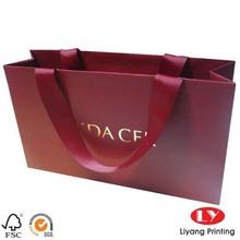 luxury paper reusable shopping bag