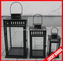 different sizes black antique outdoor candle lantern wholesale