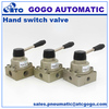 Hand operated control valves 4 way 3 position