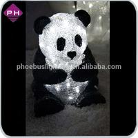 2014 new style Waterproof 3D motif light panda light
