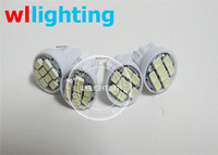 T10 Car Gauge 1206 SMD 8 LED Side Light Lamp DC 12V