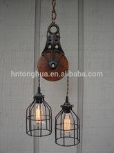 vintage industrial hanging light