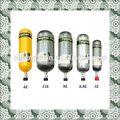 Gas ersatz zylinder für die Atmung apparants, luft flasche pressluftatmer
