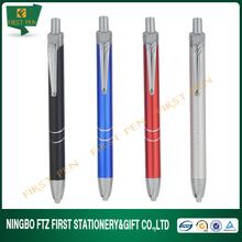 FIRST L031-1 Promotional Items,Aluminium Metal Jumbo Pen With Light