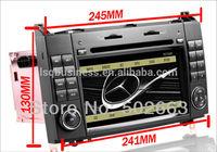 ST-9301 android 4.0 original benz menu Autoradio DVD For Mercedes Sprinter W906/ Viano/ Vito with GPS Navigation 7 inch 2din