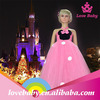 Fairy pink tulle baby girls dress designs LBE4091409