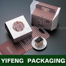 Wholesale Customize eco friendly Exquisite Paper Mini Cupcake Box