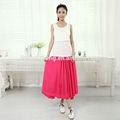 Falda larga recta personalizada para maternidad 100% poliéster y ecológica AD018