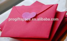 2015 china hot sale high quality handmade promotional new product handmade useful eco friendly felt envelope bag for Valentine