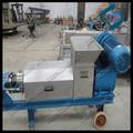 1t/hora de prensado en frío jugo/industrial jugo de prensa/jugo de manzana máquina de la prensa