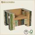 vintage de madeira barata móveis poltrona de lazer