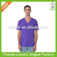 2014 hot sale blank v neck t shirt for men