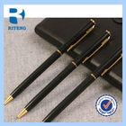 2014 New Design Nice ball pen & Roller pen Metal pen set with your logo