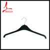 Black Brilliantly Scintillating Plastic Hanger for Luxury Sports Wear