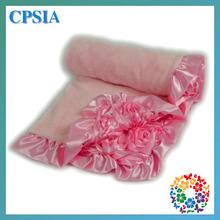 2014 Hot Winter Wool Blanket Multi Printed Soft Cotton Baby Blanket