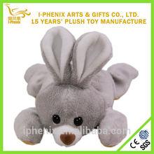 Hot design stuffed forest animals cute plush bunny rabbit lovely girl gifts 15cm plush bunny rabbit