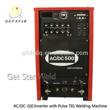 500amp aluminum welding machine Ac/dc Pulse Tig Welder