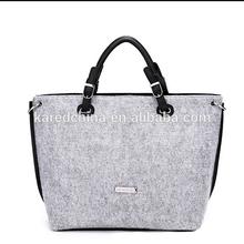 eco friendly felt fabric wholesale promotional dubai shopping bag for lady