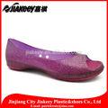 senhoras casual sapatos baixos sexy purple lantejoula nu toe lindo sapatasdevestido