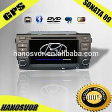 HANOSVOR 2 Din Car DVD for Hyundai santa fe Car radio GPS navigation system
