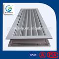 la ventilación de la rejilla de aluminio para el diseño de las puertas