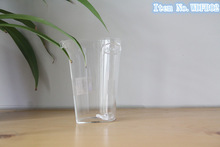 Thermos glass cups/heat resistant glass cups/double ears glass tea cups