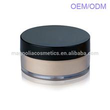 Waterproof face loose powder makeup