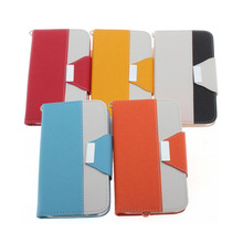 Hybrid Magnetic PU Leather Flip Pouch Wallet Card Holder Case Cover For iPhone 6
