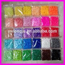 Educational DIY ironing plastic beads toys for kids /2014 Newest Popular Creation Kids DIY toys mini hama beads