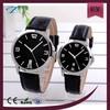 best brand ladies gents genuine leather steel watches