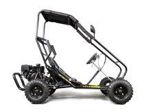 196cc 4 stroke 6.5HP 6inch adult pedal car Hydraulic disc brake centrifugal dry E-MARK approval