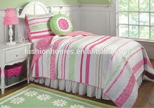 Children printed quilt/children bed sheet