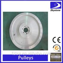 wire saw pulley quarry machine wheel