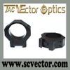 Vector Optics Tactical Low Weaver Mount Rings Gun Accessories
