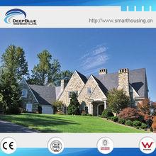DeepBlue wooden Steel Luxury Villas ( china prefabricated homes )