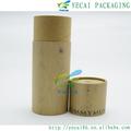reciclable cilindro máscara de papel del tubo de embalaje de impresión logo