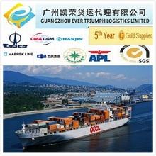 Intermodal shipping sea air transport from China to Jordan