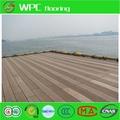 a prueba de agua paneles de madera al aire libre del wpc suelo en los proyectos