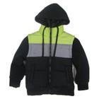 custom padded hoody kids winter jacket