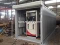 20 de 40 pies y móvil de contenedores en la estación de gasolina fabricante a la exportación a angola