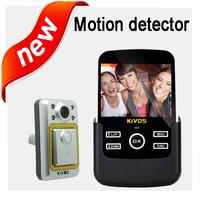 Wried door peephole viewer ,doorbell camera motion detect